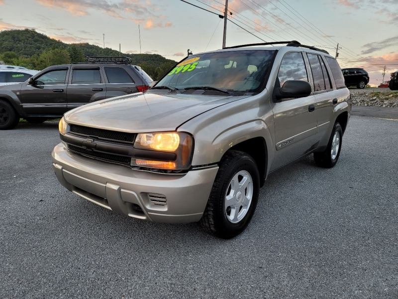 Chevrolet TrailBlazer 2002 price $3,995