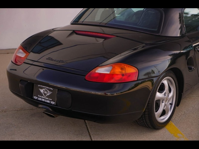 Porsche Boxster 1997 price $7,890
