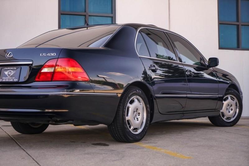 Lexus LS 2002 price $8,990