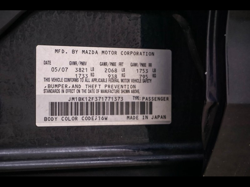 Mazda Mazda3 2007 price $4,477