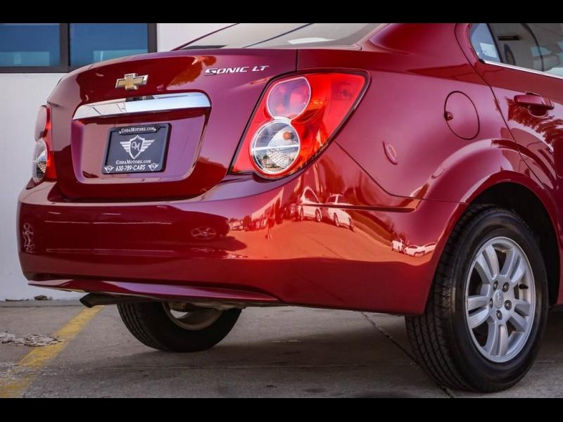 Chevrolet Sonic 2014 price $9,580