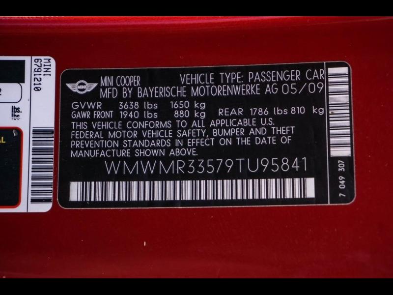 MINI Cooper 2009 price