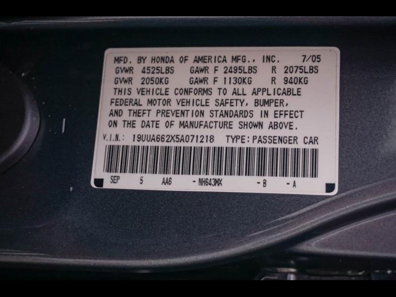 Acura TL 2005 price $6,990