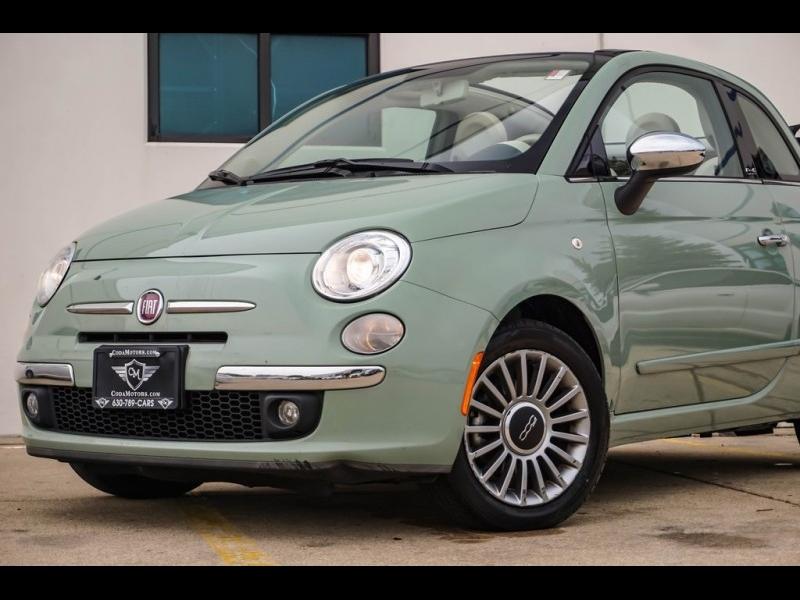Fiat 500c 2012 price $9,980