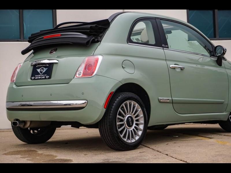 Fiat 500c 2012 price $9,290