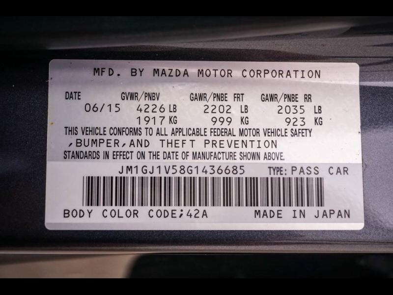 Mazda Mazda6 2016 price $15,990