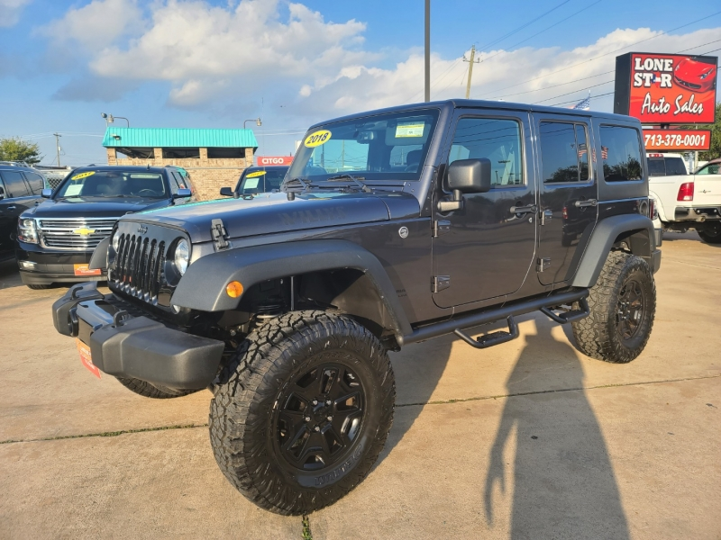 Jeep Wrangler JK Unlimited 2018 price $5,600