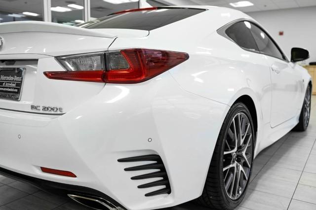 Lexus RC 2017 price $34,985