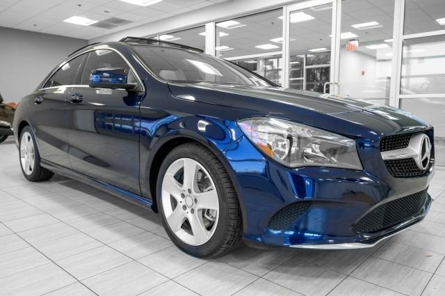 Mercedes-Benz CLA 2017 price $25,985