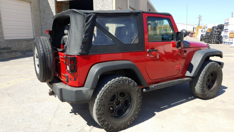 Jeep Wrangler 4WD MANUAL 2008 price $14,890