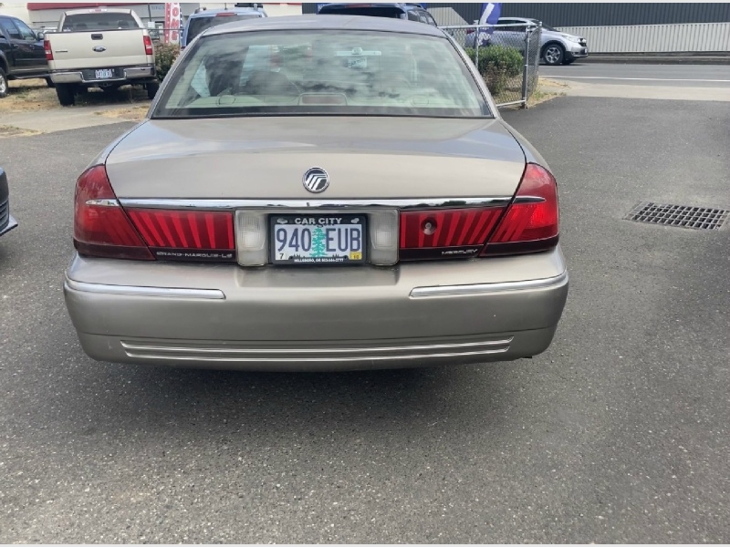 Mercury Grand Marquis 2001 price $2,295