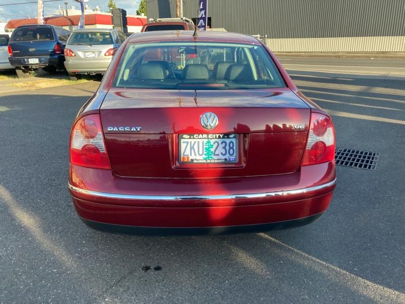 Volkswagen Passat 2003 price $4,495