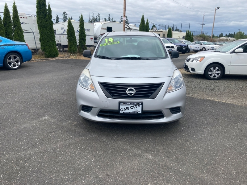 Nissan Versa 2014 price $5,395