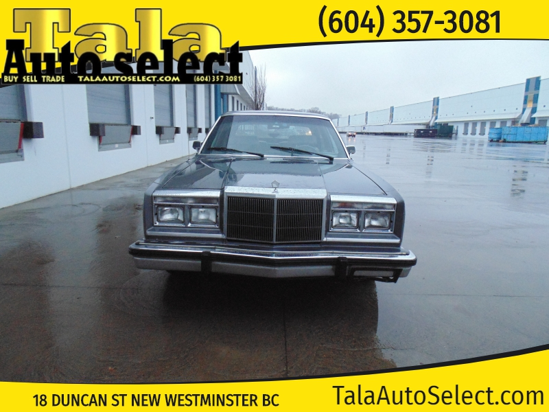 Chrysler New Yorker 1983 price $2,850