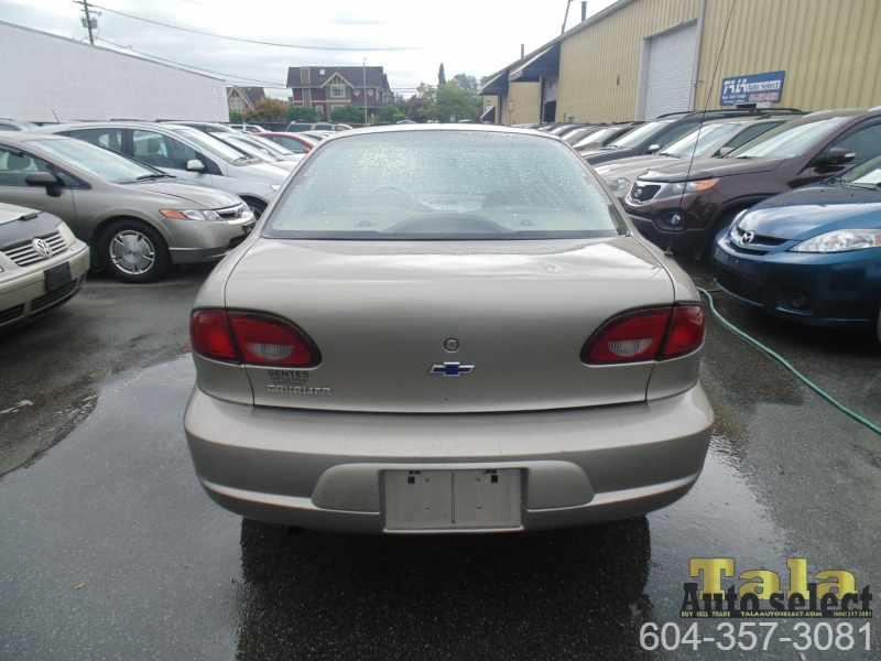 Chevrolet Cavalier 2002 price $1,650