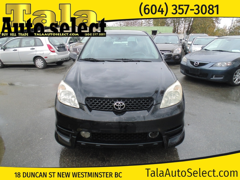 Toyota Matrix 2003 price $2,500