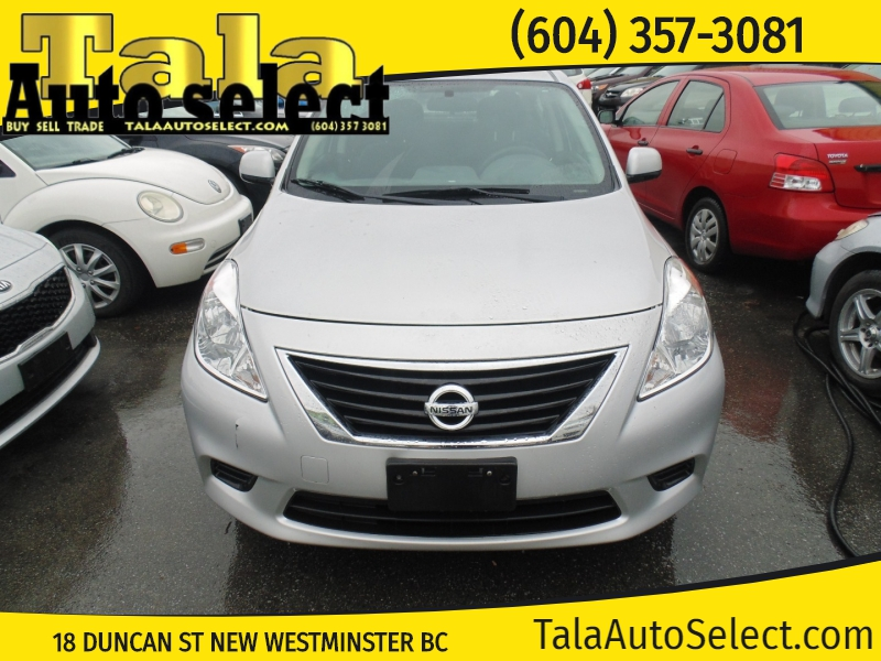 Nissan Versa 2013 price $5,888