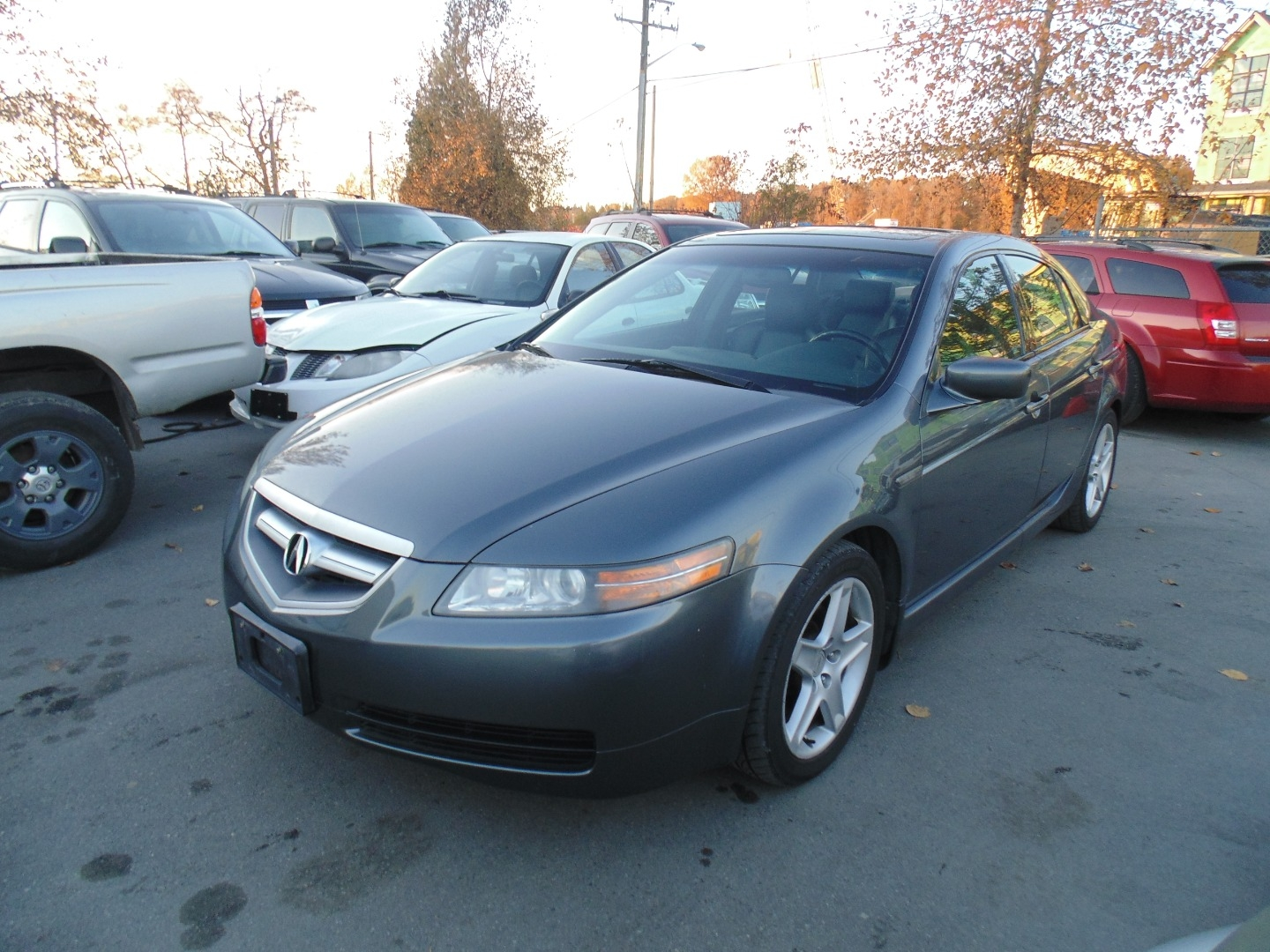 2005 Acura Tl Automatic Leather Moonroof Local Bc Tala Auto Select Inc Dealership In New Westminster