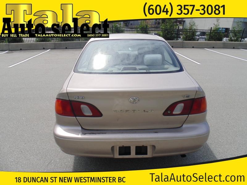 Toyota Corolla 2000 price $2,450