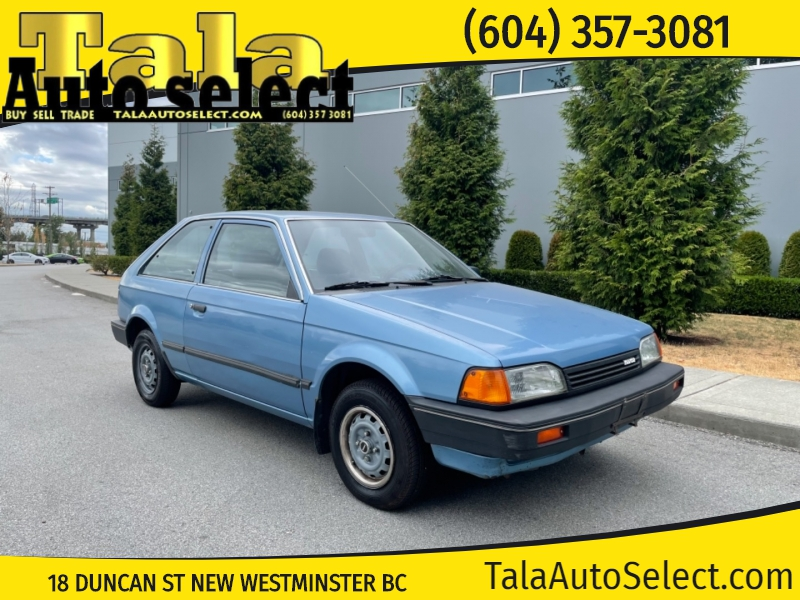 Mazda 323 1988 price $3,500