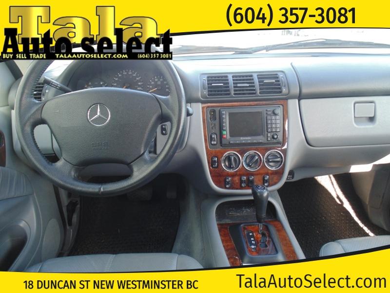 Mercedes-Benz ML320 2001 price $4,888