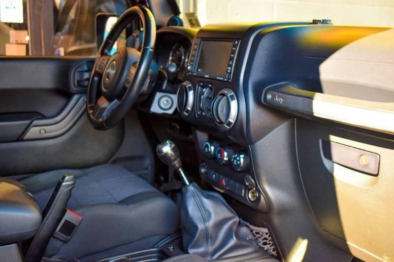 Jeep Wrangler Unlimited 2012 price $999