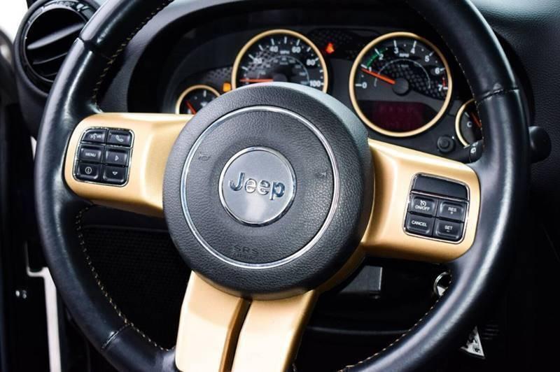Jeep Wrangler Unlimited 2014 price $499