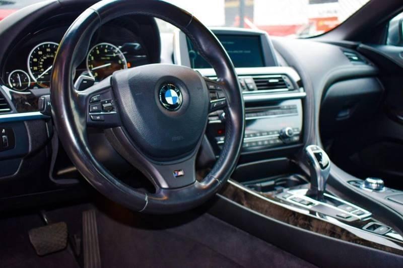 BMW 6 Series 2012 price $500