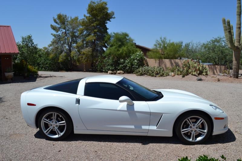 Chevrolet Corvette 2008 price sold
