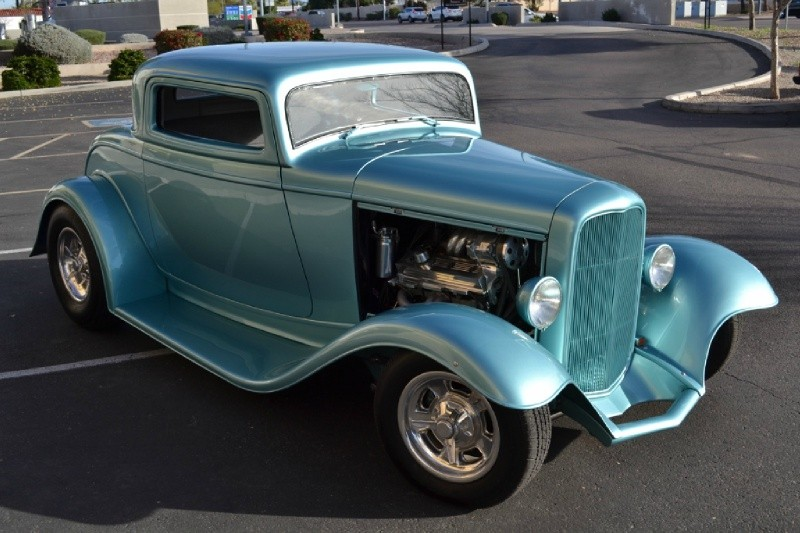 Ford 3 window coupe 1932 price