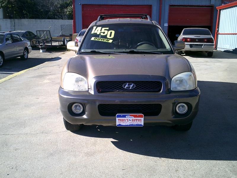 Hyundai Santa Fe 2002 price $1,450 Down
