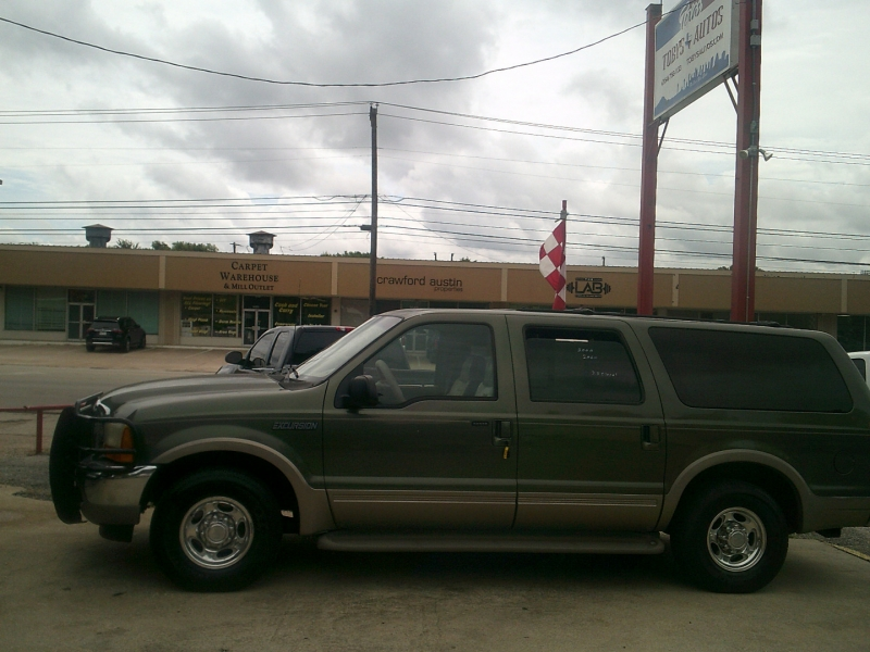 Ford Excursion 2000 price $10,950