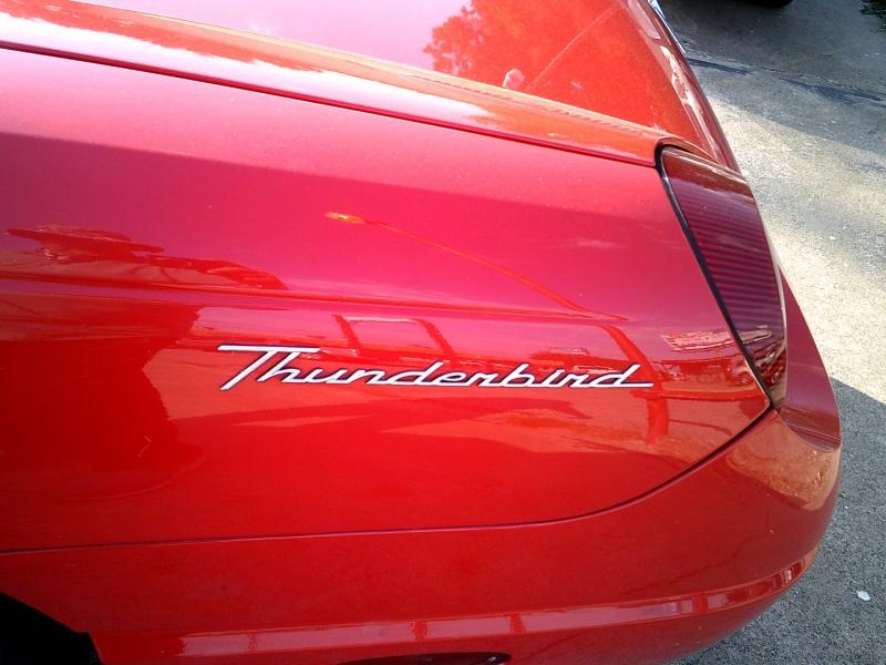 Ford Thunderbird 2002 price $11,950