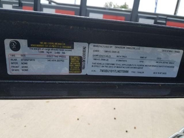 Davidson 83X10 AT-SA35 2020 price Call for Pricing.