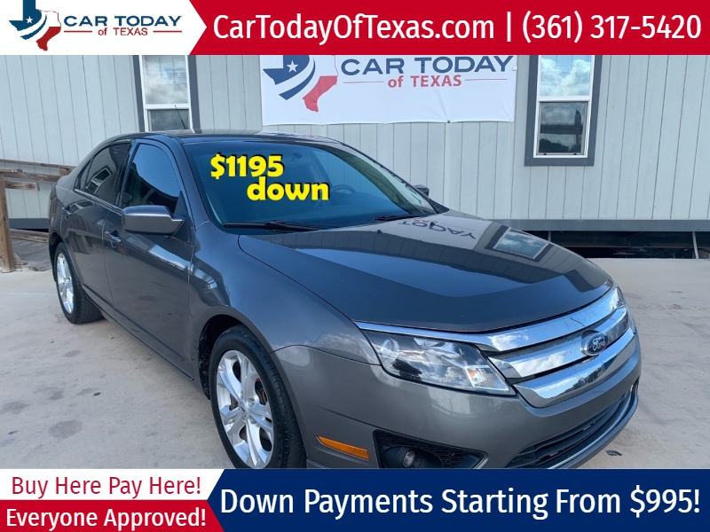 Ford Fusion 2012 price $1,195