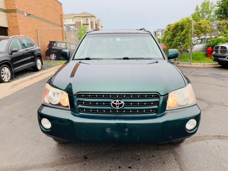 Toyota HIGHLANDER 2001 price $3,700