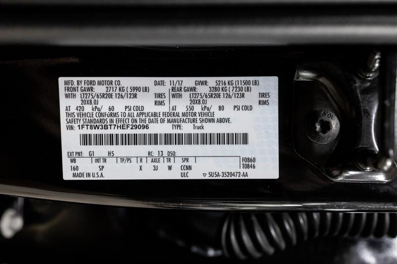 Ford Super Duty F-350 SRW 2017 price $59,995