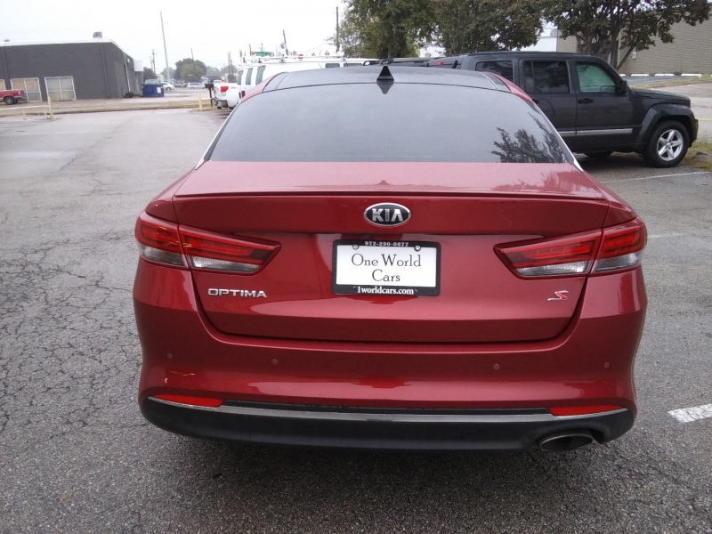 KIA OPTIMA S 1 OWNER P.ROOF 2018 price $9,995 Cash