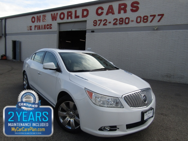 Buick LaCrosse CXL 3.0L 1 Owner 2010 price $7,495 Cash