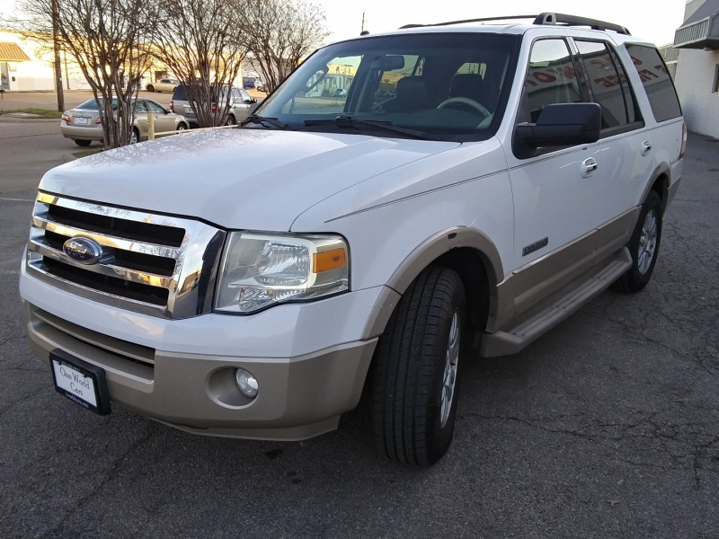 Ford Expedition Eddie Bauer 1 Owner 2007 price $7,495 Cash