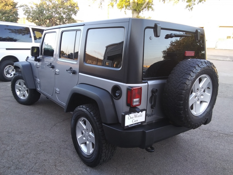 Jeep Wrangler RHD Sport 1 Owner 2016 price $32,995 Cash