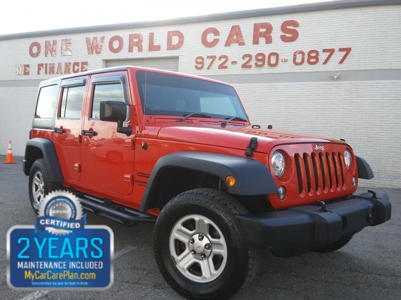 Jeep Wrangler RHD 1 Owner 2017 price $29,995 Cash