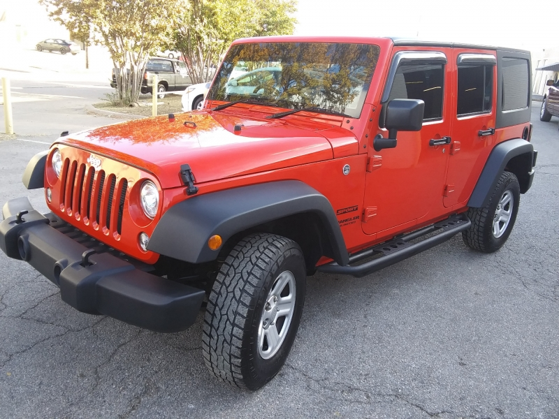 Jeep Wrangler RHD Sport 1 Owner 2017 price $33,995 Cash