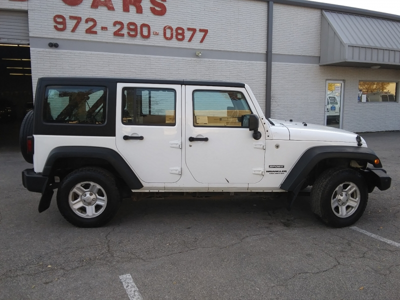 Jeep Wrangler RHD 1 owner 2013 price $21,995 Cash