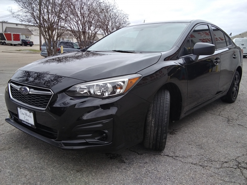 Subaru Impreza Manual 1 Owner 2017 price $14,995 Cash