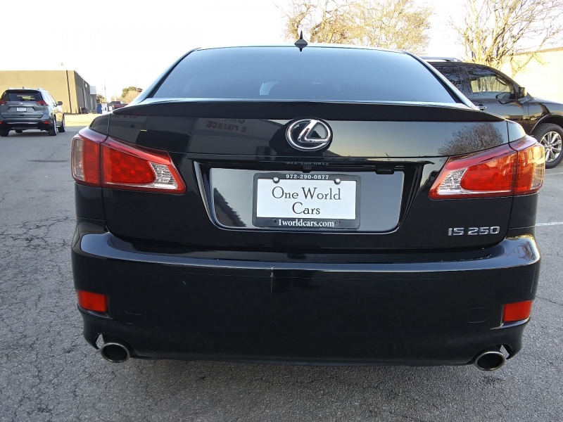 Lexus IS 250 Black/Black NAV 2013 price $16,995 Cash