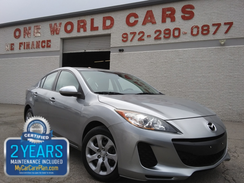 Mazda Mazda3 1 Owner 2013 price $9,495 Cash