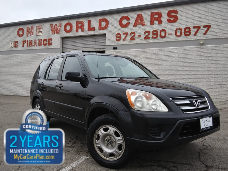 Honda CR-V 4WD Auto 1 Owner 2005 price $4,995 Cash