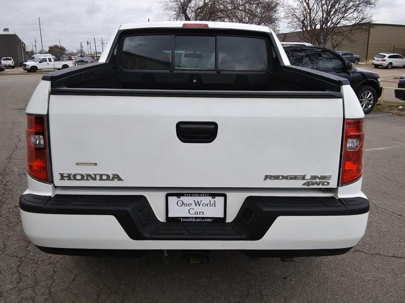 Honda Ridgeline RT 4WD 1 Owner 2012 price $12,995 Cash