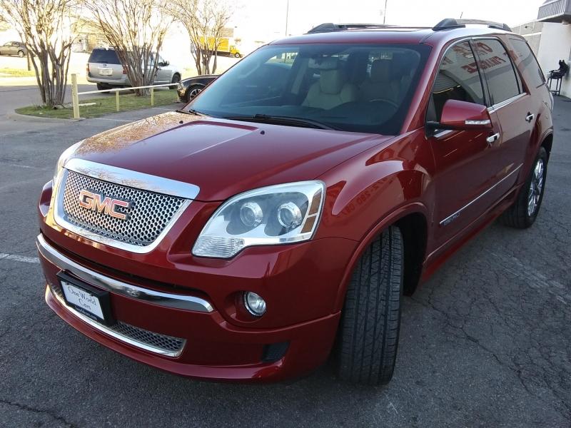 GMC Acadia Denali 1 Owner 2012 price $11,495 Cash